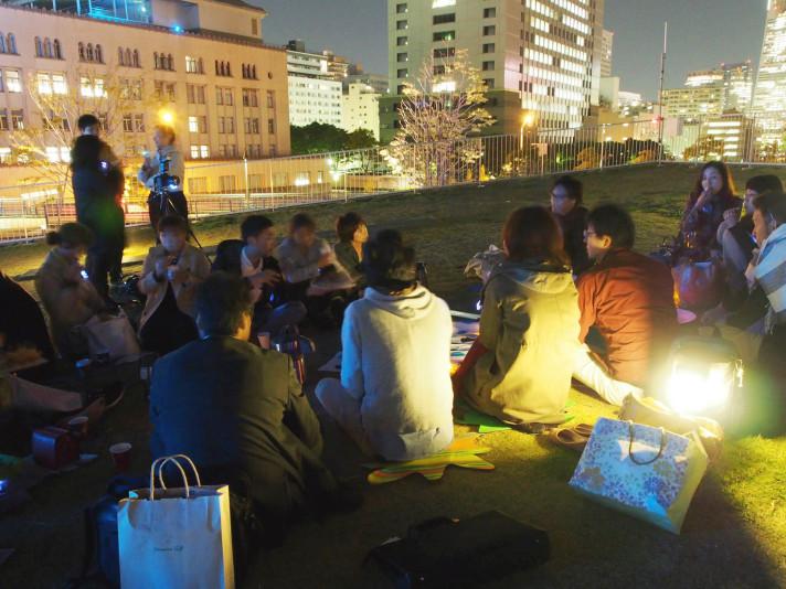 グリーンドリンクス横浜 vol.07  -イルミネーションとナイトピクニック-(ソーシャルネットワークイベント)