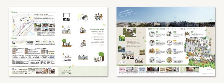 SPH99(シェアプレイス東神奈川99) プロモーション〈アートディレクション、グラフィックデザイン〉