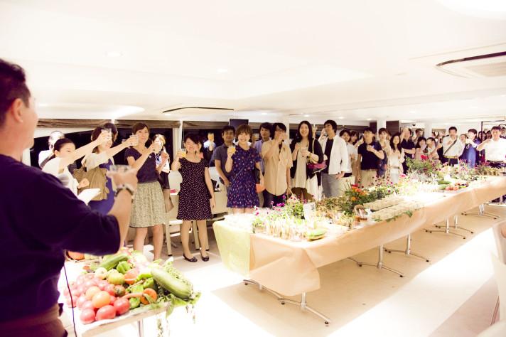 グリーンドリンクス横浜 vol.10 -「野菜の日」制定記念クルーズ-〈ソーシャルデザイン〉