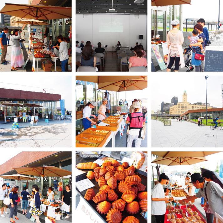 ヨコハマピクニッククラブ-ピクニック&パンマルシェと第二回街の使い方セミナー