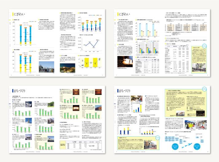 横浜市文化観光局 アニュアルレポート2012〈アートディレクション、グラフィックデザイン〉